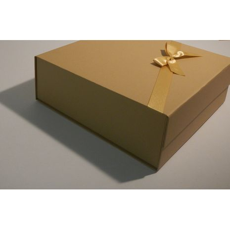 Square Gift Box with Ribbon